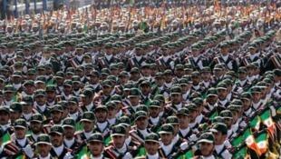 نفرات سپاه پاسداران