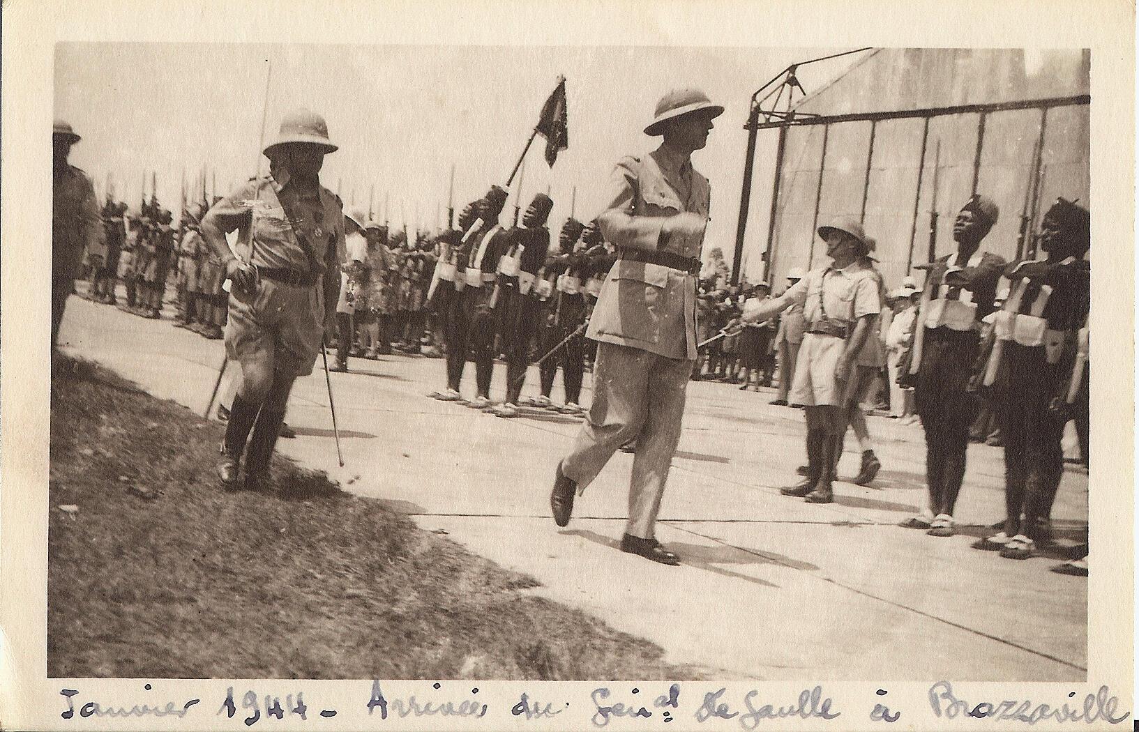 Le général de Gaulle amorce la décolonisation à Brazzaville en janvier 1944.