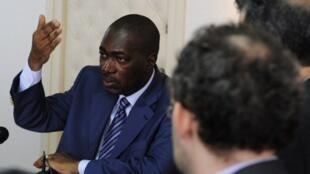 Ibrahim Sy Savané, ancien ministre de la Communication sous Laurent Gbagbo (photo de 2010).