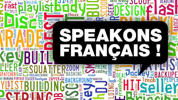 """Speakons français !"""