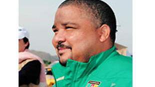 Joshua Osih, premier vice-président national du Social Democratic Front (SDF), principal parti de l'opposition.