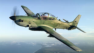 O avião de combate Super Tucano opera em três continentes.