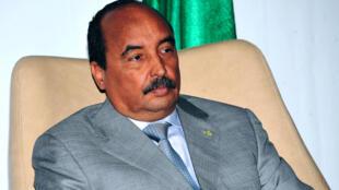 Le président Mohamed Ould Abdel Aziz.