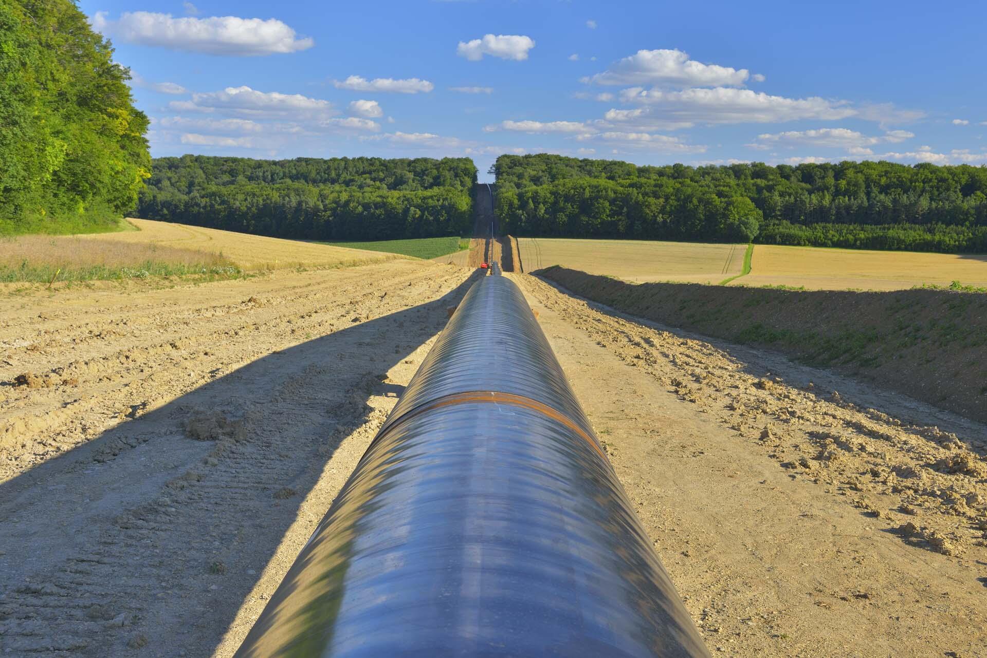 Un gazoduc. (Photo d'illustration)