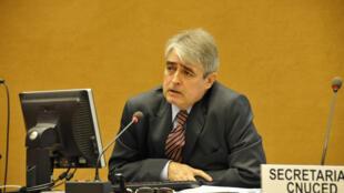 Alfredo Calcagno, chefe do departamento de Macroeconomia e Políticas de Desenvolvimento da Unctad.