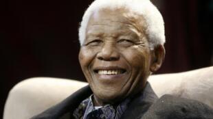 Nelson Mandela, le 12 juillet 2008.
