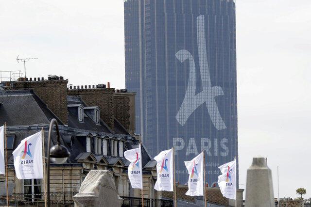 As promoções para a candidatura para os Jogos de 2024 pode ser vista por toda a capital francesa