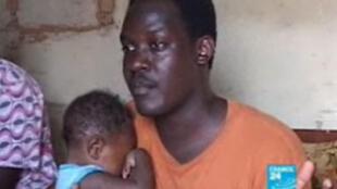 Rudwan Dawod, (D) étudiant soudanais résidant aux États-Unis. (Capture d'écran)