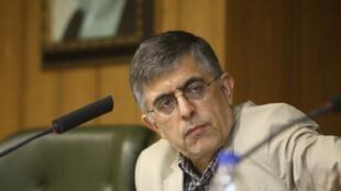 Le réformateur et ancien maire de Téhéran Gholamhossein Karbaschi est un soutien du gouvernement Rohani (photo d'archives).