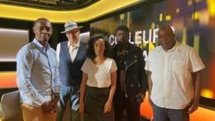 Claudy Siar, Richard Joffo, Céline Guillaume, Meiway et Daniel Dalin.