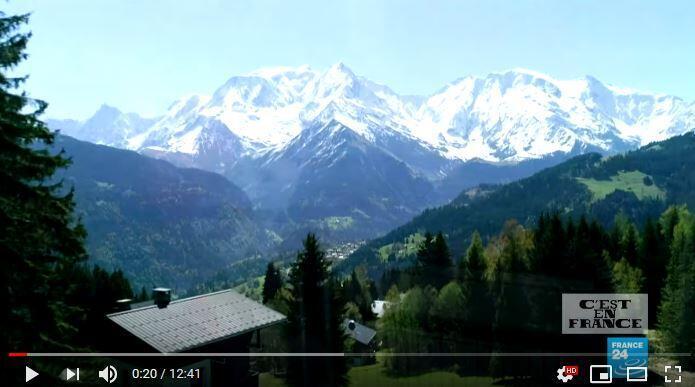 游客和环境变暖威胁勃朗峰自然环境