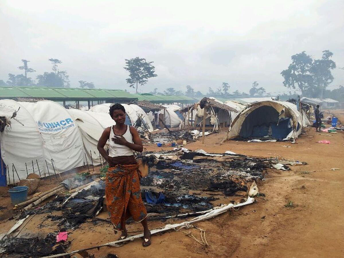 Camp de Nahibly, Duékoué, le 20 juillet 2012.
