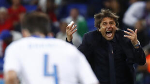 Italy coach Antonio Conte says his squad has not yet achieved anything of significance.