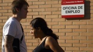En Espagne, le taux de chômage, reste l'un des plus élevés du monde industrialisé.