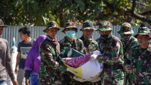 Socorros chegam a Lombok 6/08/2018