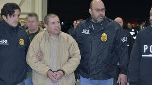 'El Chapo' Guzmán, foi extraditado para os Estados Unidos, onde foi reconhecido culpado, em fevereiro.