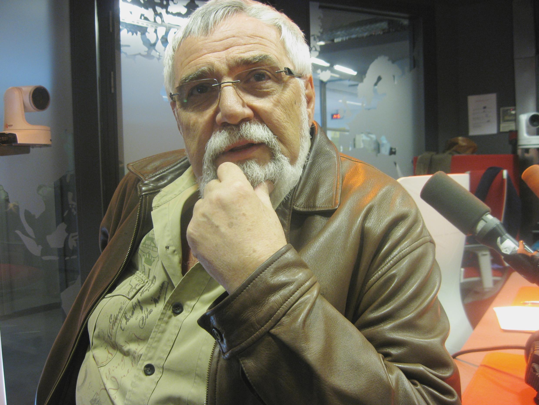 Lino Patalano en los estudios de RFI.