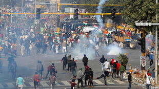 Índia protestos