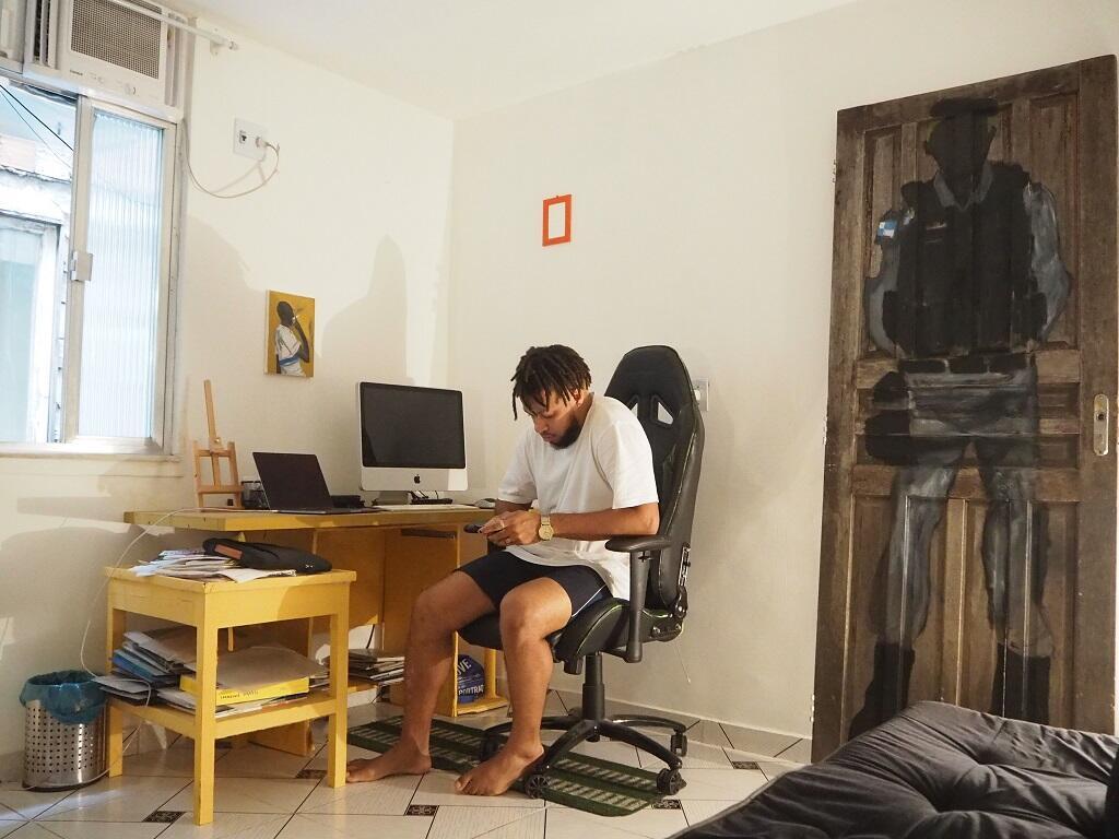 « Mon endroit préféré, c'est ma chambre », avoue Maxwell Alexandre.