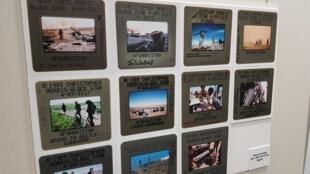 Dans les couloirs de l'exposition Afghanistan, le terrain de guerre du monde.