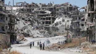 A cidade de Homs, no oeste da Síria, foi palco de novos atentados terroristas na manhã deste sábado, 25 de janeiro de 2017.