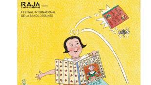 Affiche du Festival international de la bande dessinée à Angoulême, 2019.
