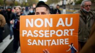 passaporte sanitario france