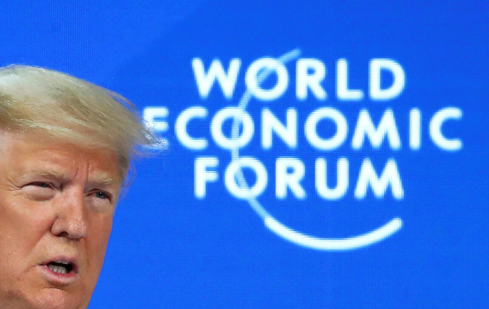 Trump discurso no forum económico mundial de Davos 2020 sobre sucesso da economia americana