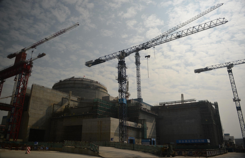 La central nuclear de Taishan, en construcción, en la provincia china de Guangdong, el 8 de diciembre de 2013