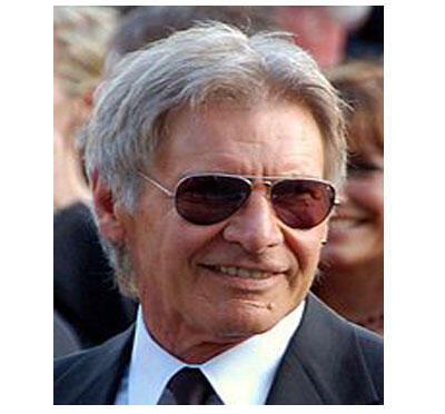 Harrison Ford, acteur et producteur de cinéma américain.