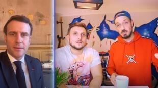 Macron, Carlito et McFly
