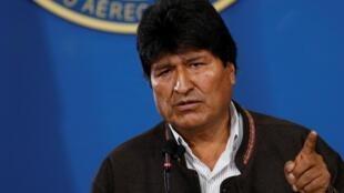 O ex-presidente boliviano, Evo Morales.