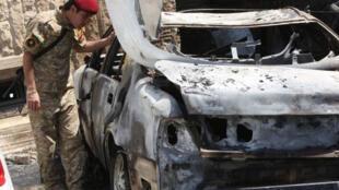 Um atentado suicida matou cinco jornalistas iraquianos nesta segunda-feira, 23 de dezembro de 2013.