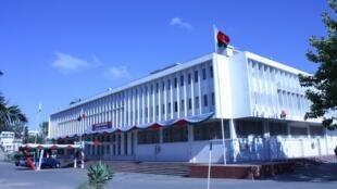 Le Palais de l'Assemblée nationale à Madagascar.