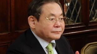 Lee-Kun-Hee, PDG de Samsung.