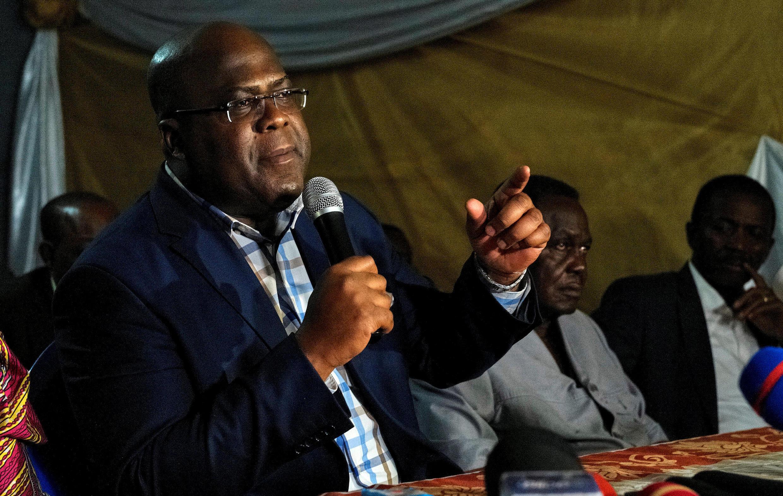 Felix Tshisekedi, à Limete près de Kinshasa, en RDC, le 12 octobre 2017.