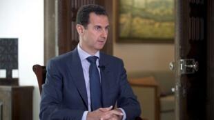 敘利亞領導人巴沙爾-阿薩德