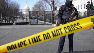 华盛顿国会附近强化安保