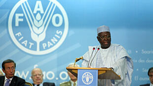 M. Jacques Diouf, Directeur général de la FAO