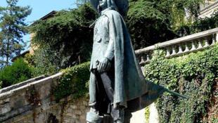 Памятник д'Артаньяну в г. Ош в Гаскони