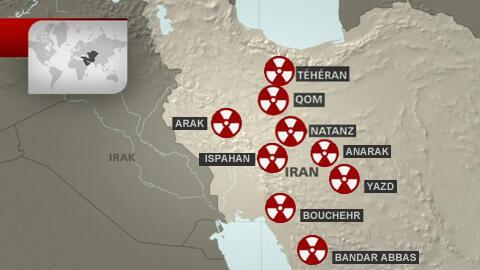 مراکز هستهای ایران