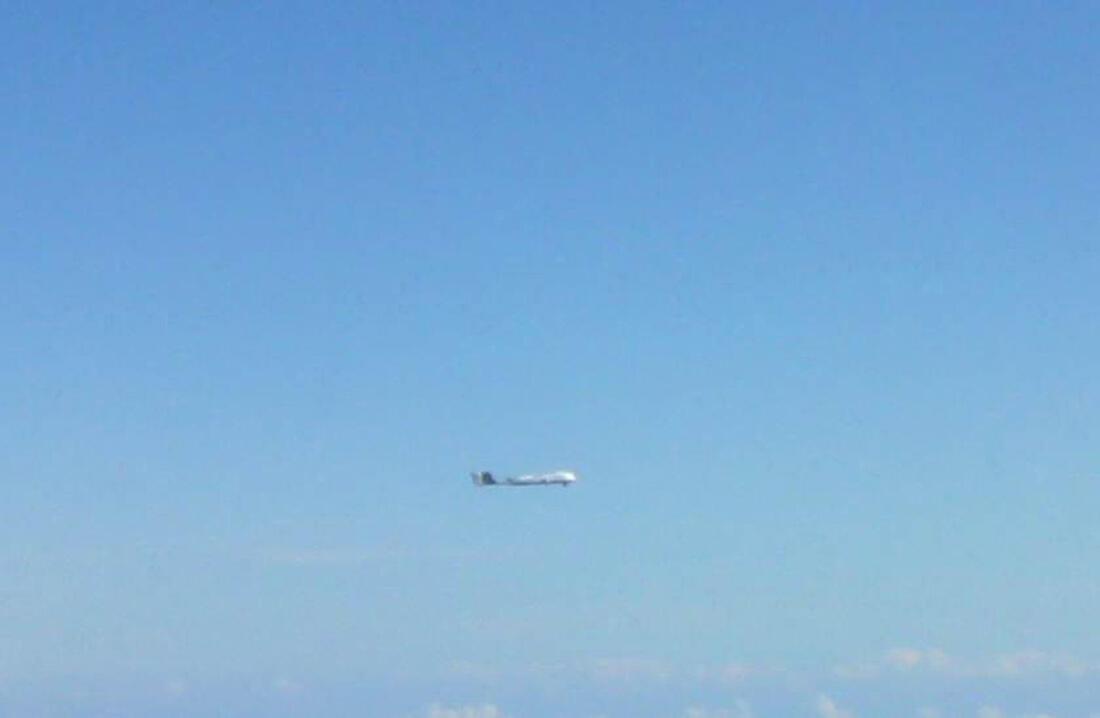 Không quân Nhật cho cất cánh phi cơ tiêm kích để theo đuổi chiếc máy bay lạ - REUTERS /Joint Staff of the Defence Ministry of Japan