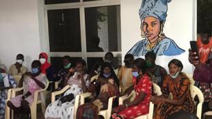 Des participants atelier Graffiti du Centre culturel regional de Matam ok
