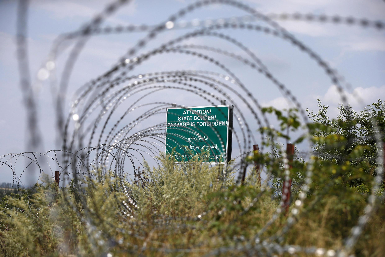 Администрация президента Грузии назвала установление нового пограничного знака «переносом линии оккупации вглубь грузинской территории» (фото из архива)