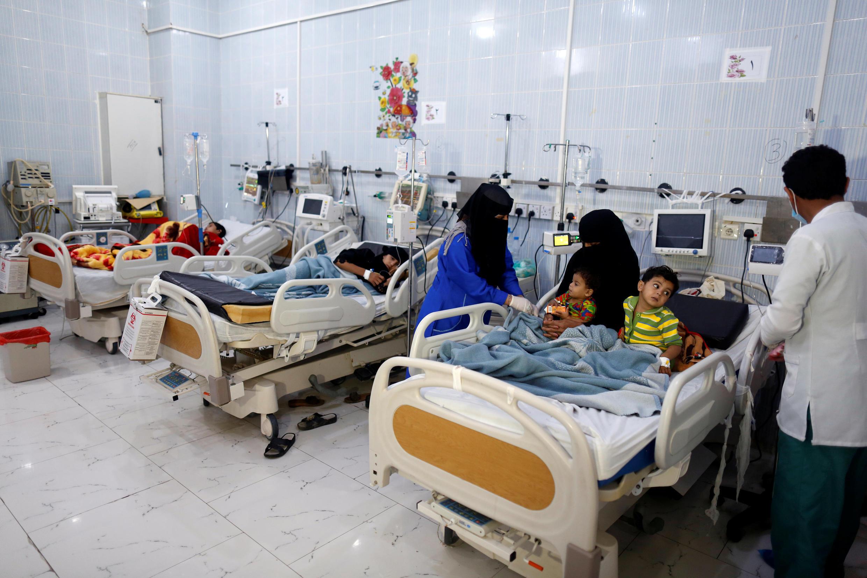 Hospital Al-Sabeen en Saná, capital de Yemen.
