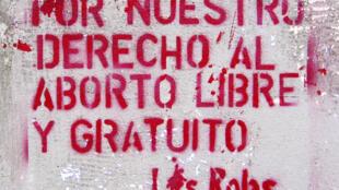 La Campaña Nacional por el Derecho al Aborto legal, Seguro y Gratuito es impulsora del proyecto de ley junto a diversos movimientos feministas.