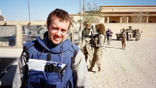 Daya daga cikin 'Yan Jaridu da ke dauko rahoto a kasar Iraqi