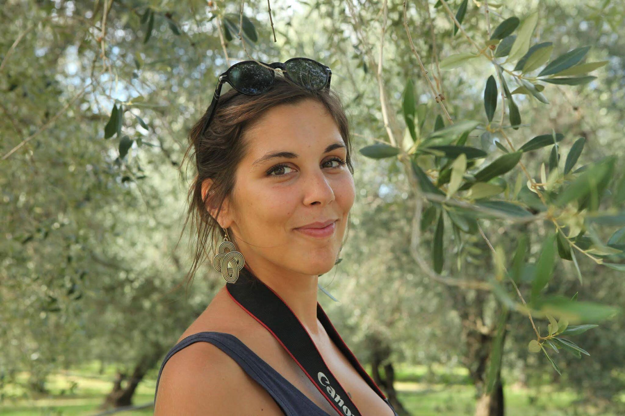 A grafista, escritora e autora de histórias em quadrinhos Aude Mermilliod.