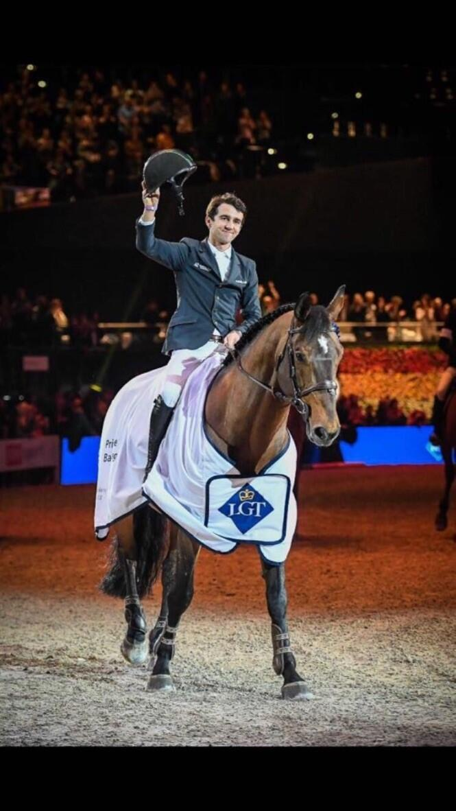 O cavaleiro maranhense Marlon Módolo Zanotelli é radicado na Bélgica.