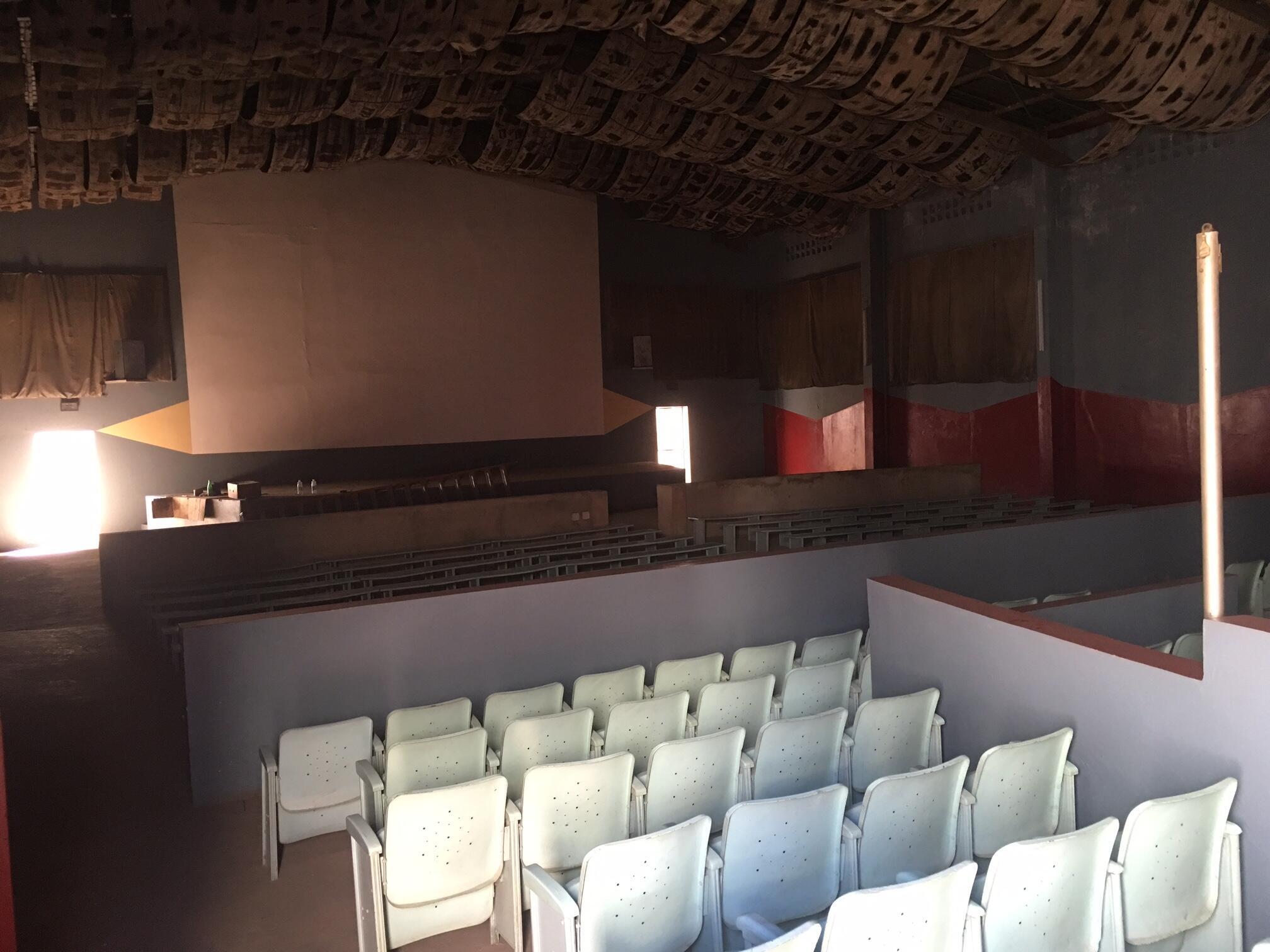 The Christa cinema in Dakar is functional but not longer operational.